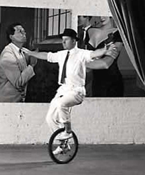 mark on unicycle